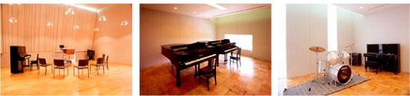 Practice Rooms